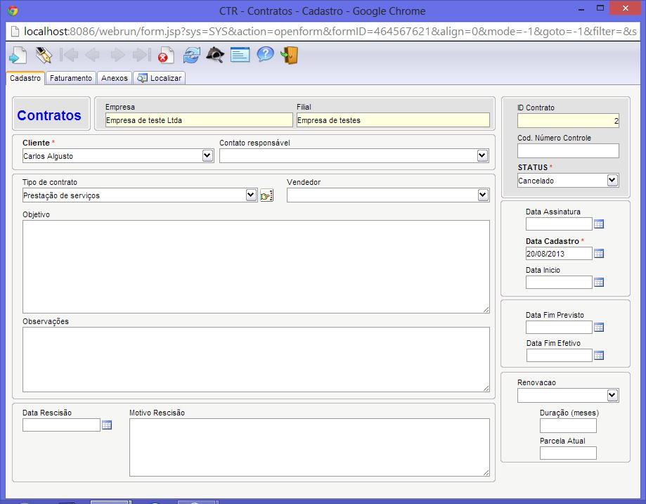 Software de gestão de contratos